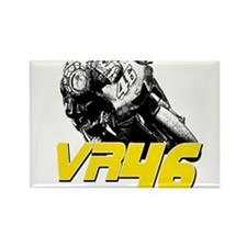 VR46bike2 Rectangle Magnet
