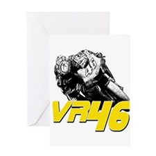 VR46bike2 Greeting Card