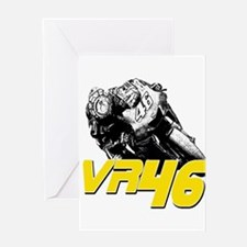 VR46bike2 Greeting Card