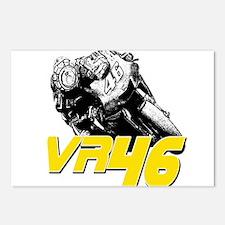VR46bike2 Postcards (Package of 8)