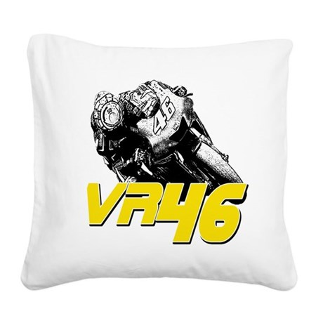 VR46bike2 Square Canvas Pillow