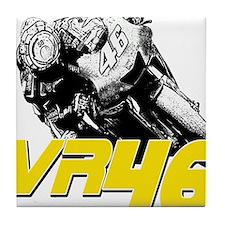 VR46bike2 Tile Coaster