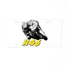 VR46bike1 Aluminum License Plate