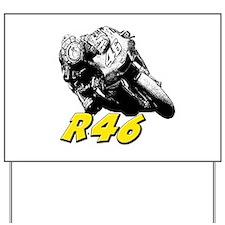 VR46bike1 Yard Sign