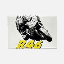 VR46bike1 Rectangle Magnet