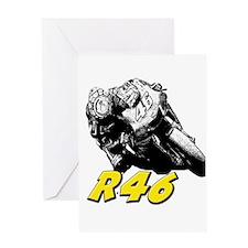 VR46bike1 Greeting Card