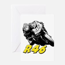 VR46bike1 Greeting Card