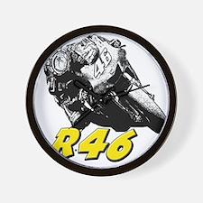 VR46bike1 Wall Clock
