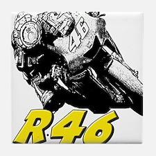 VR46bike1 Tile Coaster