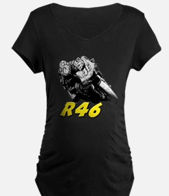 VR46bike1 Maternity T-Shirt