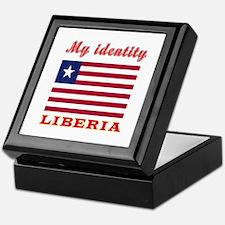 My Identity Liberia Keepsake Box