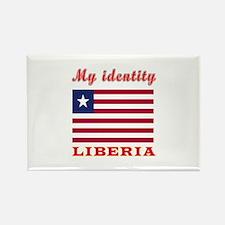 My Identity Liberia Rectangle Magnet