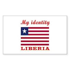 My Identity Liberia Decal