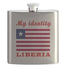 My Identity Liberia Flask