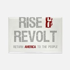 Rise & Revolt Return America To People Rectangle M