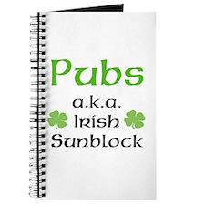 Pubs: Irish Sunblock Journal