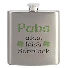 Pubs: Irish Sunblock Flask
