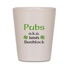 Pubs: Irish Sunblock Shot Glass