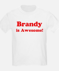 Brandy is Awesome Kids T-Shirt