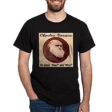 Charles Darwin (1809-1882) Di T-Shirt