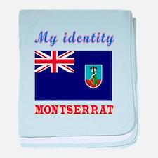 My Identity Montserrat baby blanket
