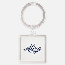 Aliza Square Keychain