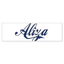 Aliza Bumper Bumper Sticker