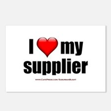 """Love My Supplier"" Postcards (Package of 8)"