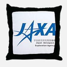 JAXA Logo Throw Pillow
