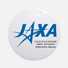 JAXA Logo Round Ornament