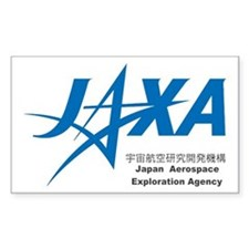 JAXA - Japan Space Rectangle Decal