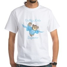 Cute Teddy Bear Daddy's Superstar Design T-Shirt