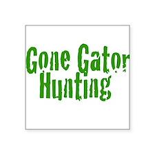 Gone Gator Hunting Sticker