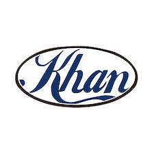 Khan (blue) Patches