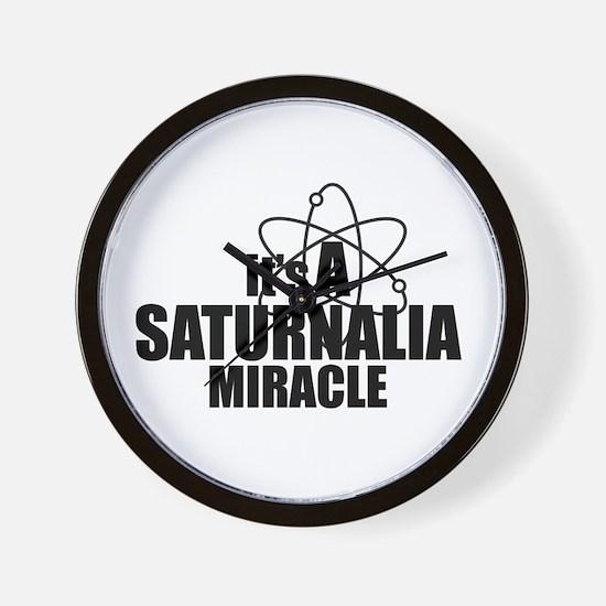 Saturnalia Miracle Wall Clock