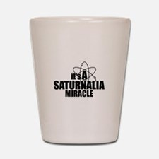 Saturnalia Miracle Shot Glass