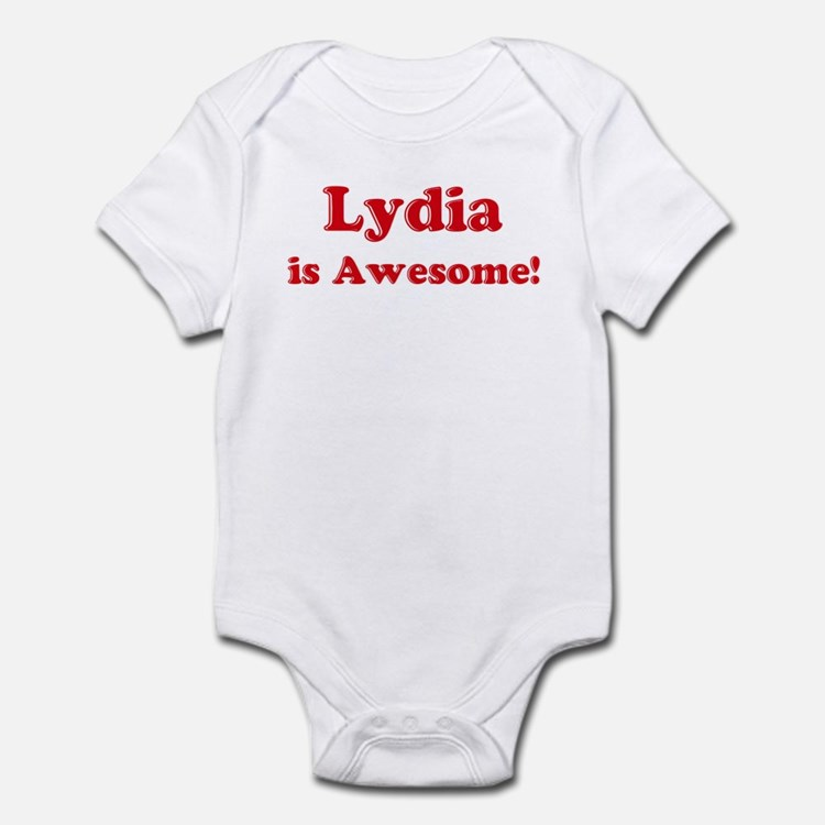 Lydia is Awesome Infant Bodysuit