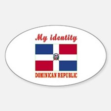 My Identity Dominican Republic Decal