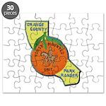 Orange County Mounted Ranger Puzzle