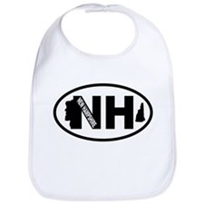 New Hampshire Old Man in the Mountain Bib