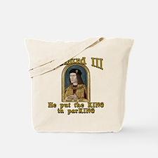 Richard III CarPark Humor Tote Bag
