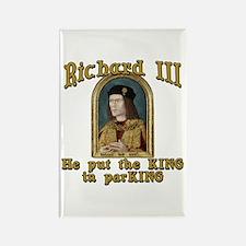 Richard III CarPark Humor Rectangle Magnet
