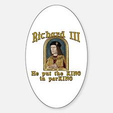 Richard III CarPark Humor Decal