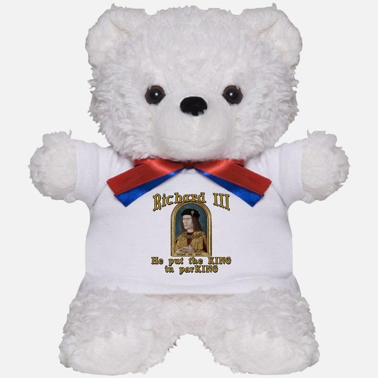 Richard III CarPark Humor Teddy Bear