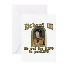 Richard III CarPark Humor Greeting Cards (Pk of 10