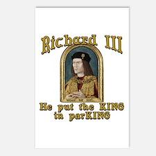 Richard III CarPark Humor Postcards (Package of 8)