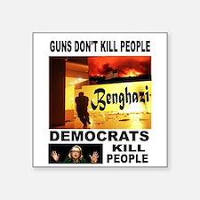 HILLARYS VICTIMS Sticker