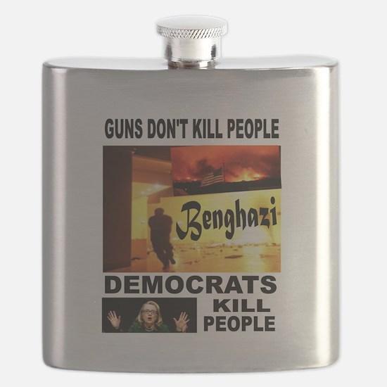 HILLARYS VICTIMS Flask