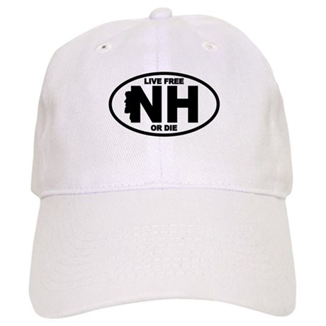 New Hampshire Live Free or Die Baseball Cap