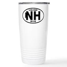 New Hampshire Live Free or Die Travel Mug